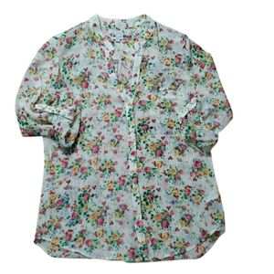 KUT FROM THE KLOTH Jasmine floral top small NWOT
